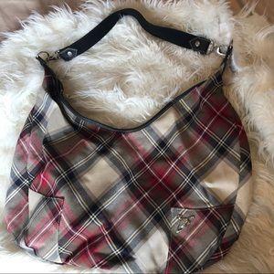 Vivienne Westwood shoulder bag plaid